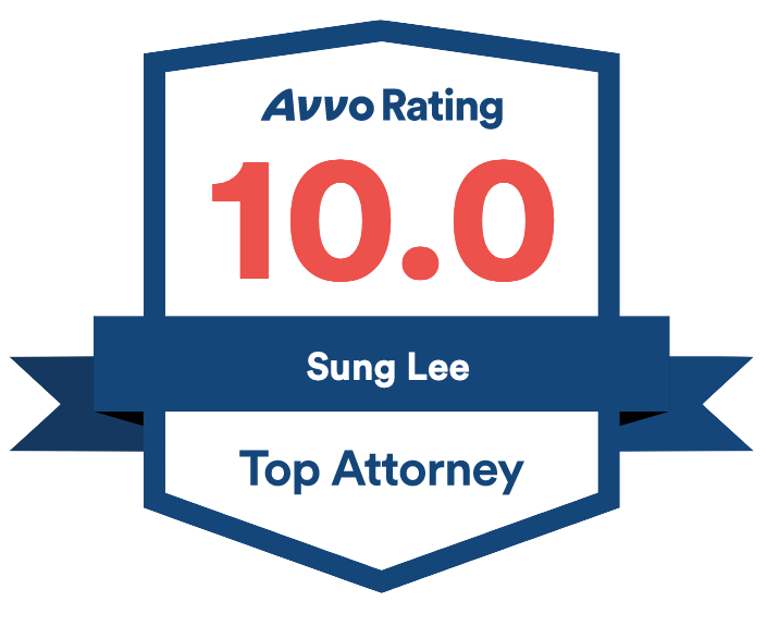 Sung Lee - Avvo badge